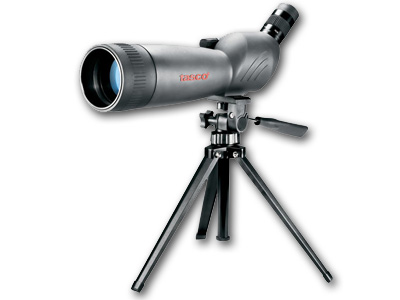 World Class 20-60X80  Zoom Angled Spotting Scope