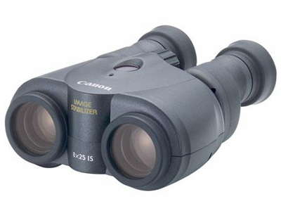 8x25 IS Porro Prism Image Stabilized Binoculars