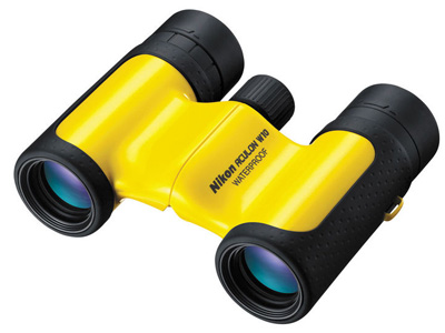 ACULON W10 8x21 Roof Prism Binoculars Yellow
