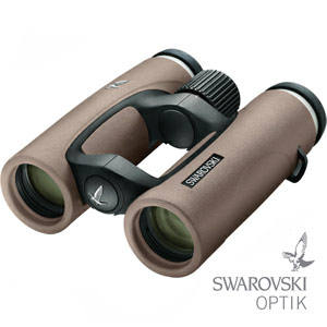10x32 EL Traveler SwaroVision SAND BROWN