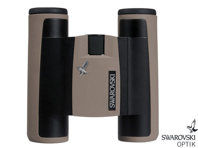 10x25 CL Pocket Binoculars Sand Brown