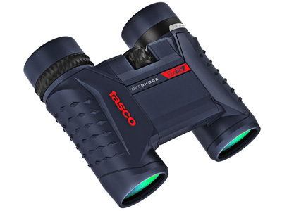 Tasco 8x25 Off Shore Roof Prism Binoculars Blue