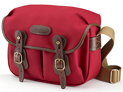Hadley Small Canvas Burgundy/Chocolate Trim