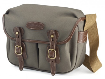 Hadley Small Sage FibreNyte/Chocolate Trim