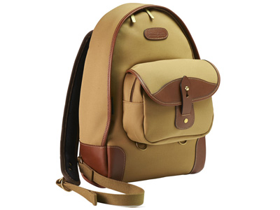 Rucksack 35 Khaki Canvas/Tan Leather