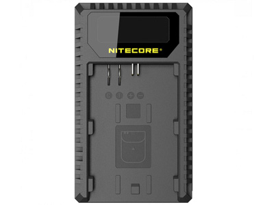Nitecore Canon Battery Charger for LP-E6/6N/E8