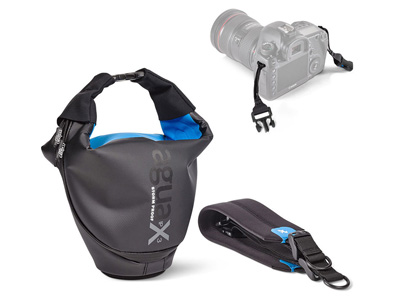 Agua Stormproof Holster Pro SLR  Black/Blue