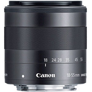 18-55mm F3.5-5.6 IS EF-M STM Lens