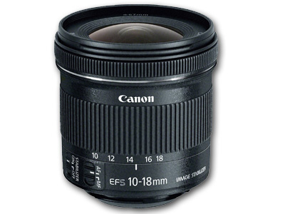 10-18mm f4.5-5.6  EFS IS STM Lens