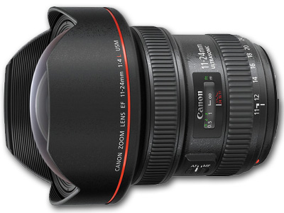 11-24mm f/4L EF USM Lens Open Box
