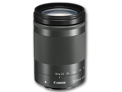 18-150mm f/3.5-6.3 IS STM EF-M Lens (Graphite)