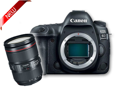 EOS 6D Mark II Digital SLR with 24-105 Lens