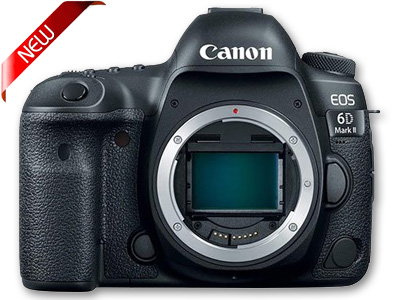 EOS 6D Mark II Digital SLR Camera Body