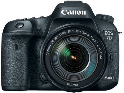 7D Mark II with EFS 18-135mm lens