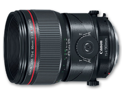 90mm f2.8L Macro Lens TSE (Tilt Shift)