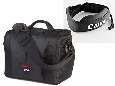 Canon EOS 6D/5D/7D/60D Bag and Strap Kit