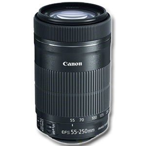 55-250mm f/4-5.6 IS EF-S STM LENS