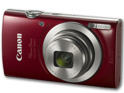 Powershot  ELPH 180  20mp 8X Zoom Red