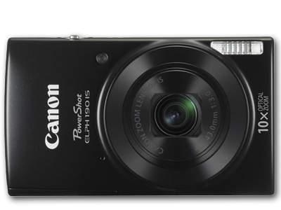 Powershot  ELPH 190 IS 20mp 10X Zoom Black
