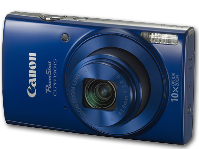 Powershot  ELPH 190 IS 20mp 10X Zoom Blue