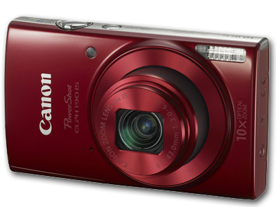 Powershot  ELPH 190 IS 20mp 10X Zoom Red