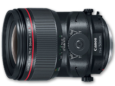 50mm f/2.8L Macro Lens TSE (Tilt Shift)
