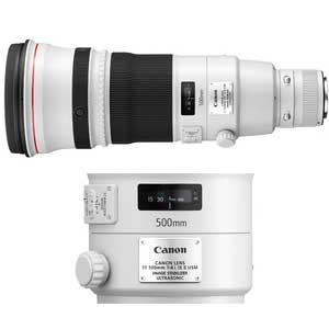 500mm f/4L IS II USM EF Lens