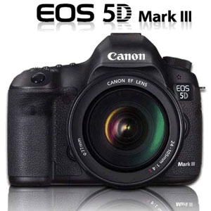 EOS 5D Mark III Kit with 24-105mm Lens