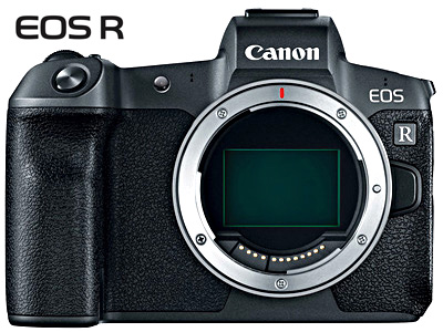 EOS R Mirrorless Camera Body BONUS adapter