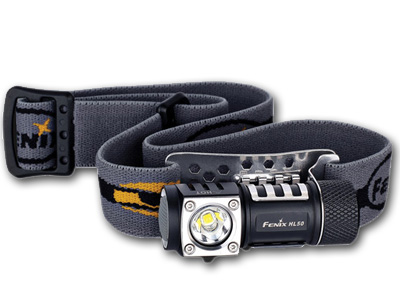 Fenix HL50 LED Headlamp BLACK