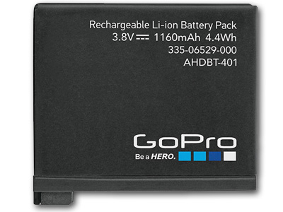 GoPro HERO4 Li-ion Rechargeable Battery