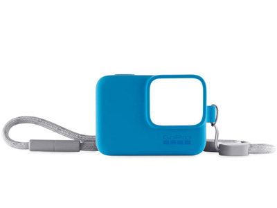 Sleeve and Lanyard for GoPro Blue