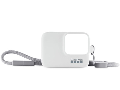 Sleeve and Lanyard for GoPro White