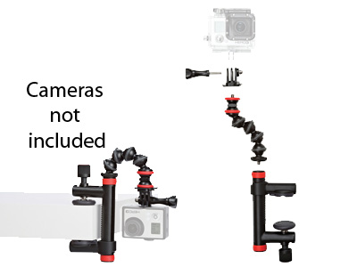 Joby Action Clamp & GorillaPod Arm Blk/Red