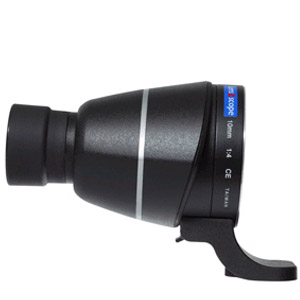 Straight Scope Adapter for Canon Lenses BLACK