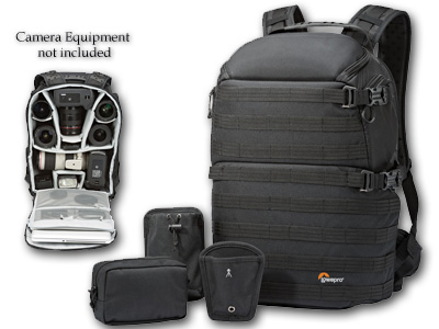 Pro Tactic 450 AW Camera/Laptop Backpack