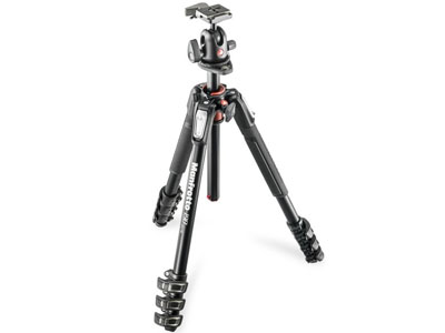 Manfrotto 190 Aluminum 4-Section