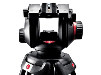 Pro Fluid Video Head 75mm Half Ball