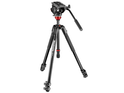 MVK500190XV 500 Fluid Head with Aluminium Tripod