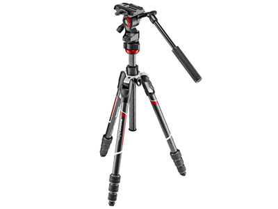 MVKBFRTC-LIVE Carbon Fibre Tripod and Head