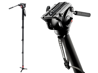 MVM500A Fluid Video Monopod w/500 Head