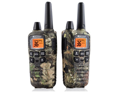 X-Talker 2-way Radios 2 Pack Outfitter Camo