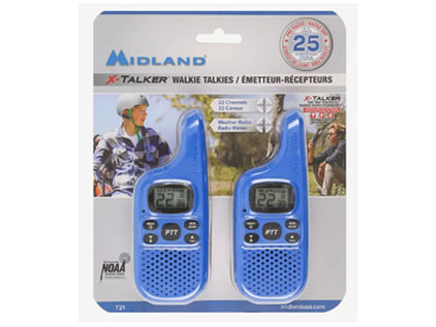 X-Talker 2-Way Radios 2 Pack