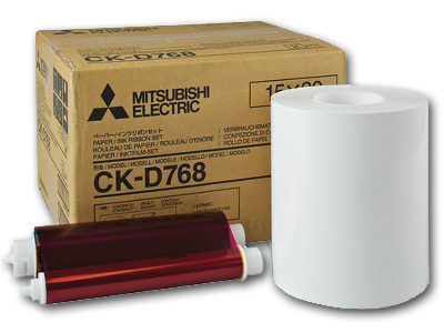 Mitsubishi Electric CKD768  6x8 Media kit