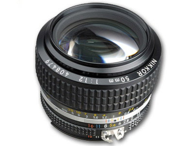 50mm f1.2 AIS FX Manual Focus Lens