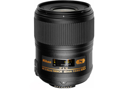 60mm f2.8 G ED AF-S Micro Lens Open Box