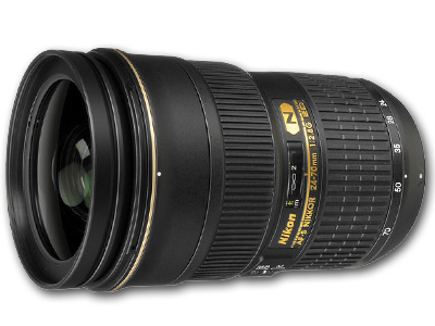 24-70mm f2.8 G AF-S Lens Open Box