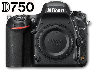 D750 FX 24MP DSLR Body
