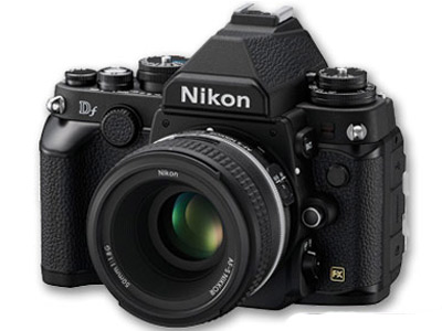 Nikon Df Camera Kit w/AFS 50mm f1.8 Lens Black