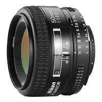 50mm f1.4D AF Lens for Nikon
